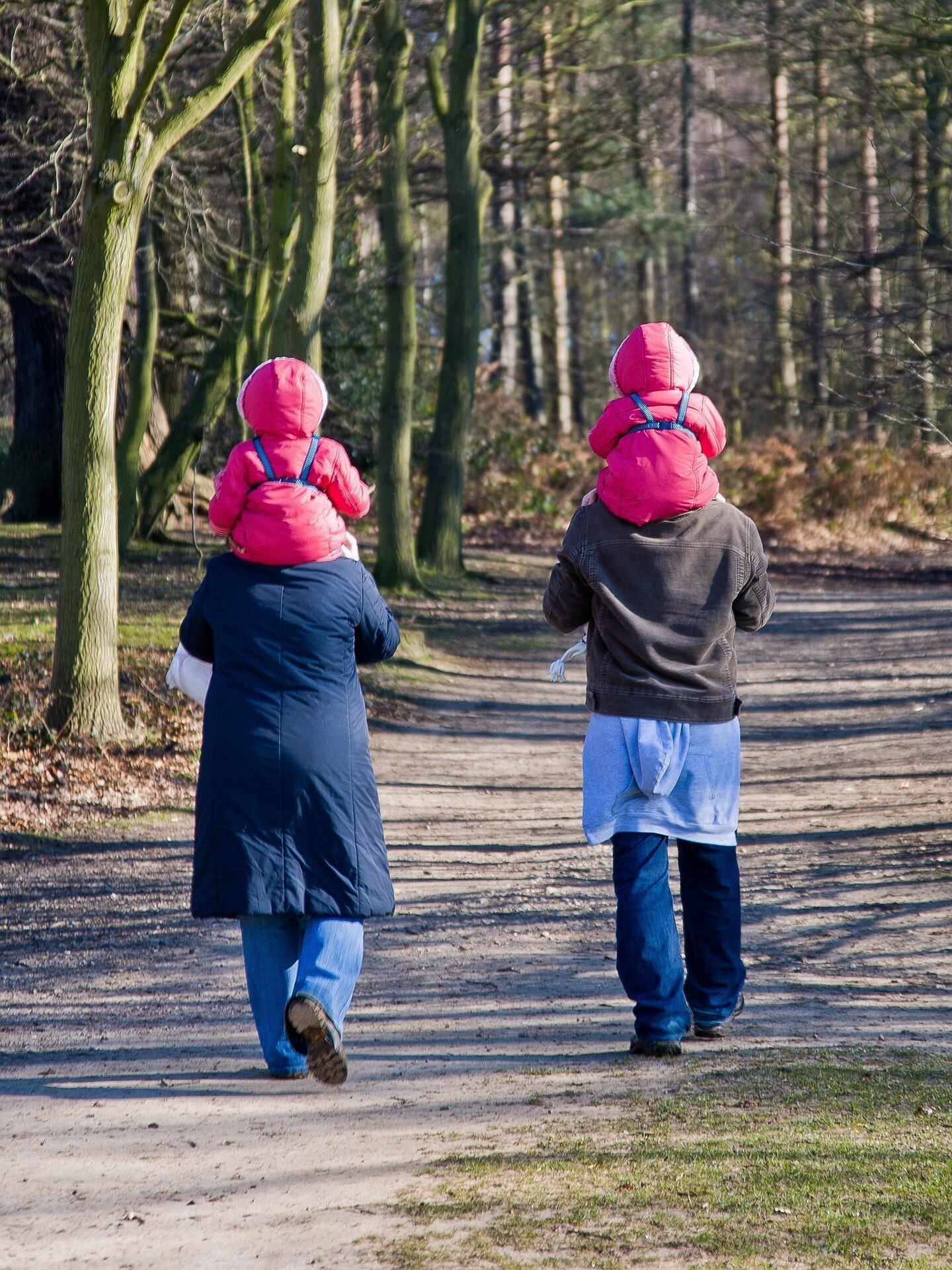 walking with twins