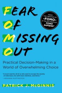 book cover Fear of Missing Out Patrick J. McGinnis